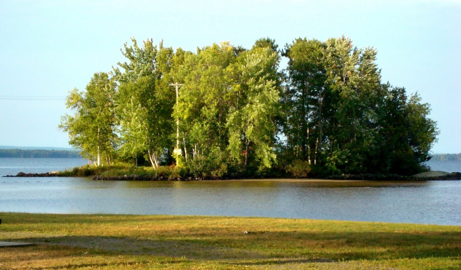 Island off Champlain Park