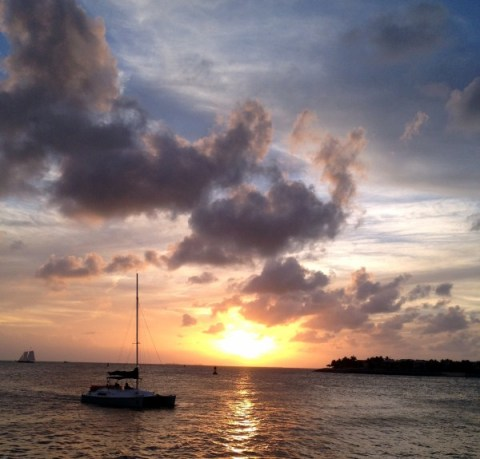 sunset from mallory Square, KW.2012 (600 x 574)