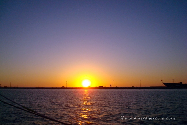 key west sunset.2012