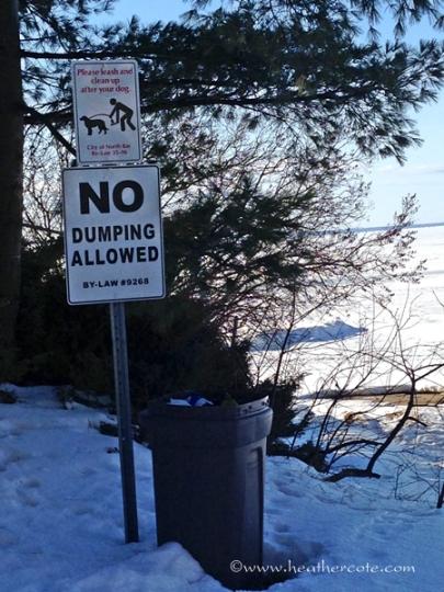 not dumping 2.2013