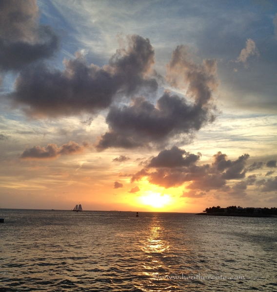 sunset 1key west 2012