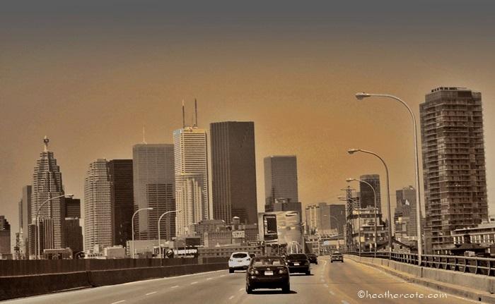Garner Expressway Toronto,sepia.etc