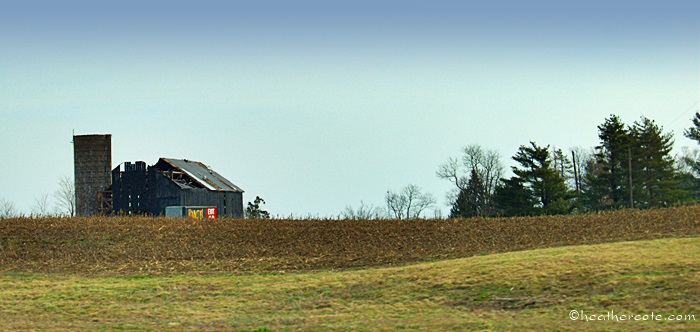 old barn.drive home.2013