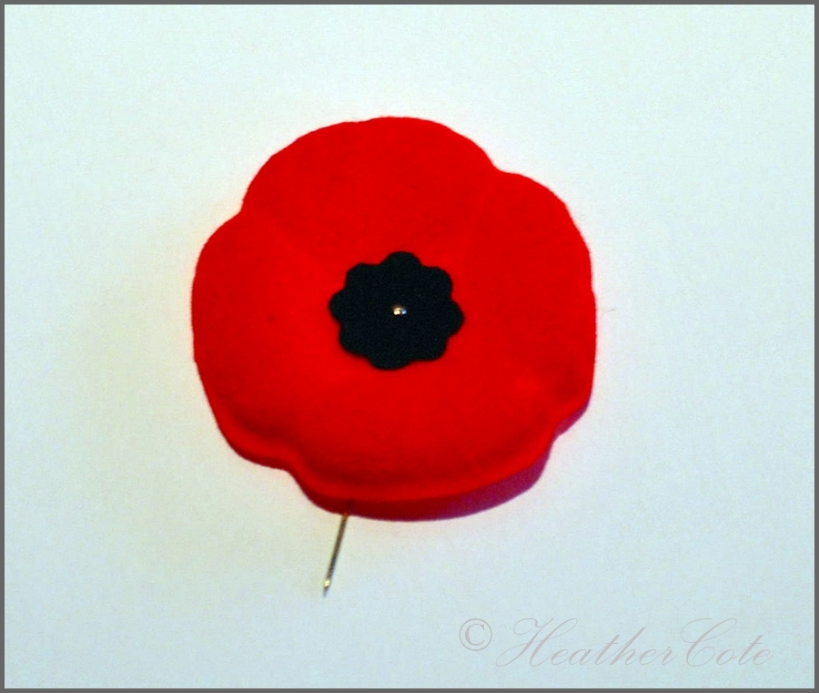 How to Wear a Remembrance Day Poppy (UK) images